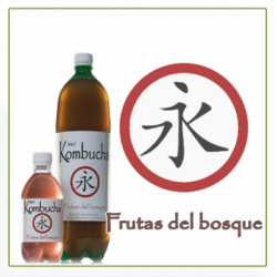 Kombucha de frutos bosque