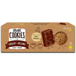 Galletas sin gluten con chocolate y avellanas