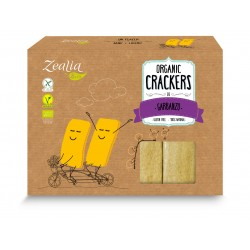 Crackers de garbanzo sin gluten