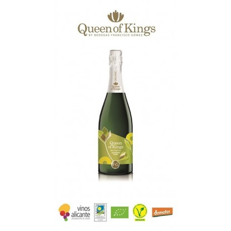 Vino Espumoso Queen Of Kings Moscatel Brut Nature