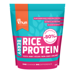 Proteina Arroz Bayas 100% Raw Vegan