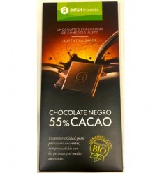 Chocolate negro 55% Cacao