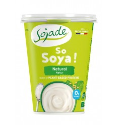 Yogur de soja natural