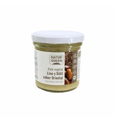 Pate vegetal de Lino y Datil sabor Oriental