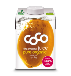 AGUA DE COCO KING 100% 500ML BIO