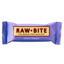 Raw-Bite vainilla y frutos bosque