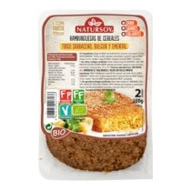 Hamburguesa cereales ( sarraceno, bulgur y emmental)