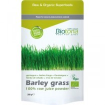 Juice of barley grass powder